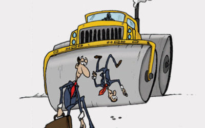 Are you Picking Up Dimes in Front of a Steam Roller?
